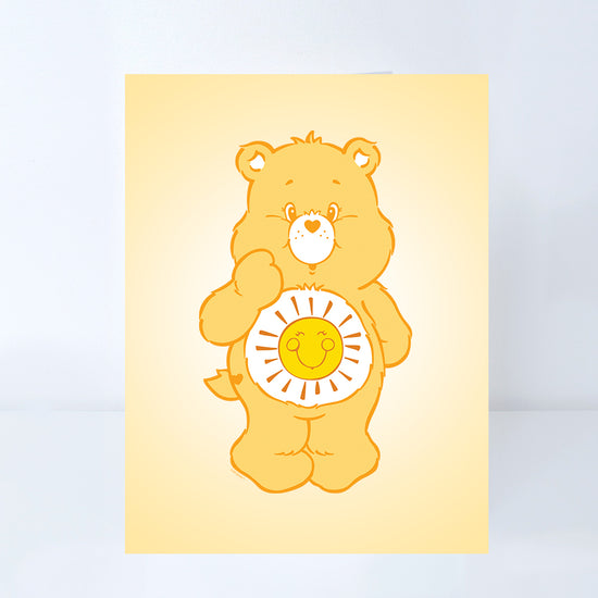 Care Bears Funshine Bear Greeting Card