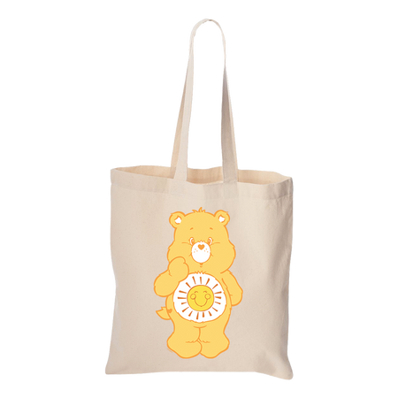 Care Bears Funshine Bear Canvas Tote Bag
