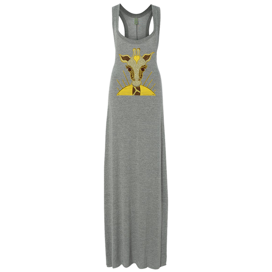 Love Giraffe Women's Organic Maxi Dress