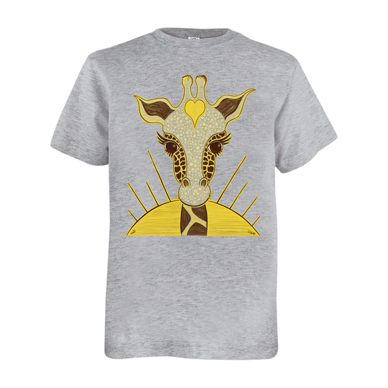 Love Giraffe Youth T Shirt