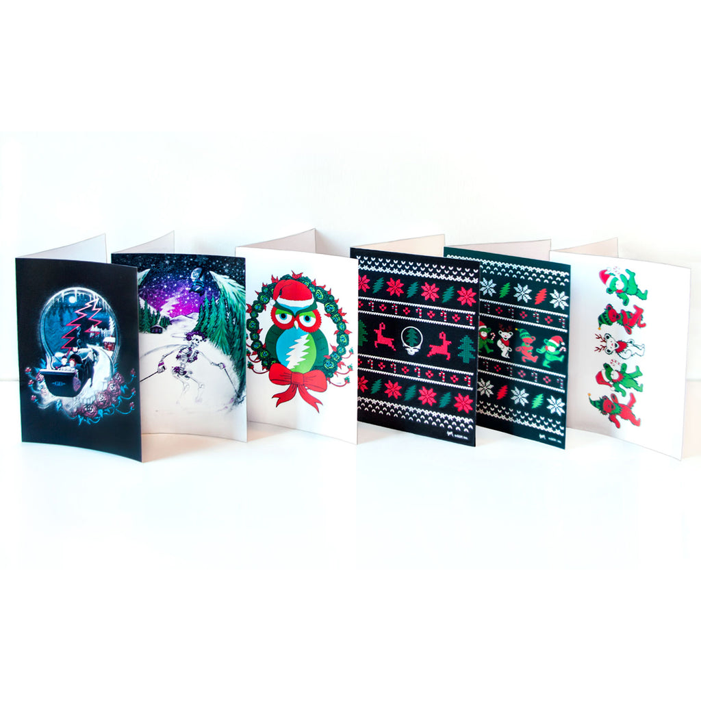 Grateful Dead Holiday Cards Variety 12-Pack - Little Hippie