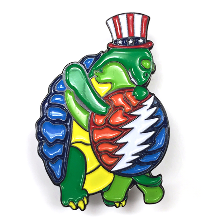 Grateful Dead Hugging Terrapins Pins