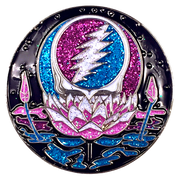 Grateful Dead Lotus Stealie Pins