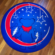 Grateful Moon Round Area Rug
