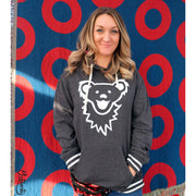Grateful Dead Dancing Bear Face Women's Hoodie