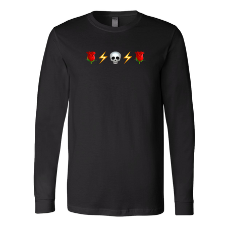 Grateful Emojis Unisex Long Sleeve T