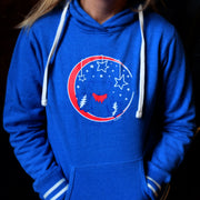 Grateful Moon Women's Hoodie