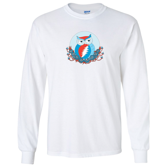 Grateful Dead Owl Unisex Long Sleeve T