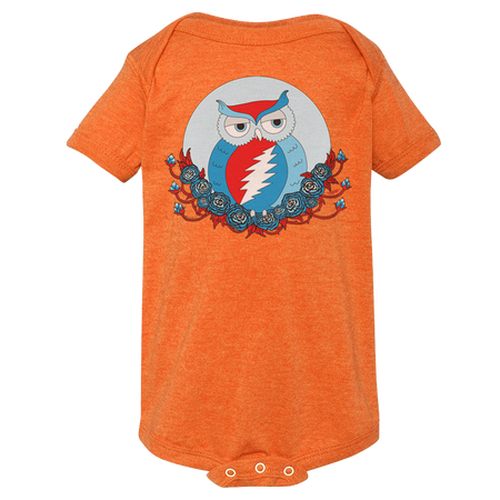 Grateful Dead Owl Short Sleeve One Piece