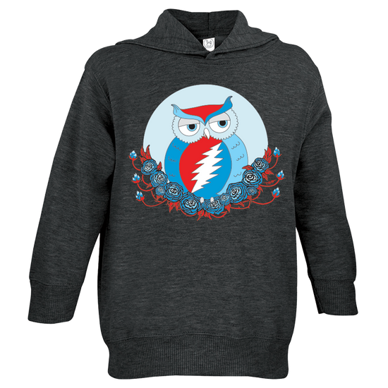 Grateful Dead Owl Toddler Hoodie