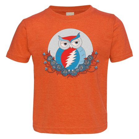 Grateful Dead Owl Toddler T