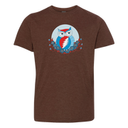 Grateful Dead Owl Youth T Shirt