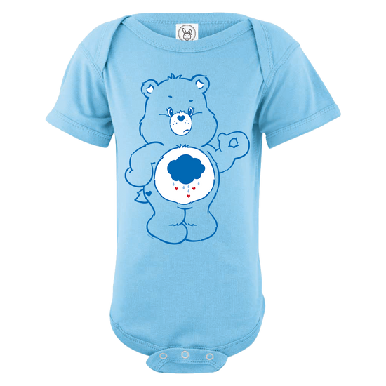 Care Bears Grumpy Bear Baby Short Sleeve One Piece