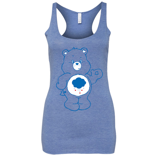 Care Bears Grumpy Bear Women's Racerback Tank