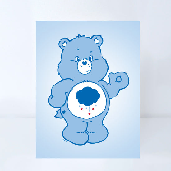 Care Bears Grumpy Bear Greeting Card