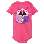 Hatching Grateful Baby Owl Short Sleeve One Piece