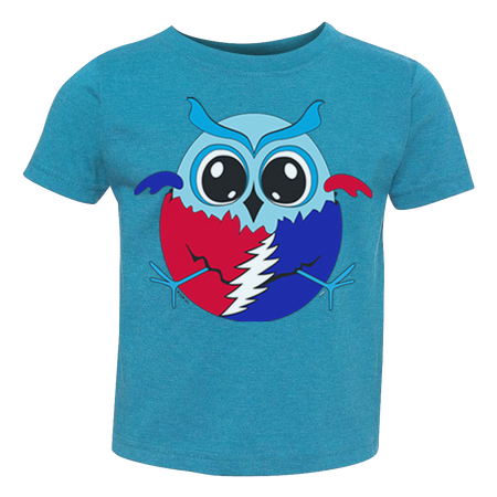Hatching Grateful Owl Toddler T