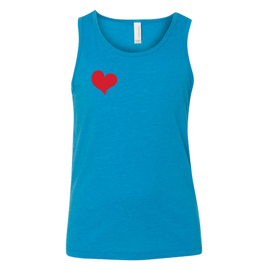 Simple Heart Youth Tank