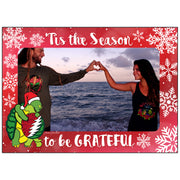 Holiday Hugging Terrapins Customized Photo Frame Holiday Card
