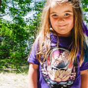Grateful Dead Lotus Stealie Girls Youth T