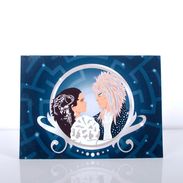 "Jim Henson's Labyrinth Movie ""Sarah & Jareth Dance"" Greeting Card"