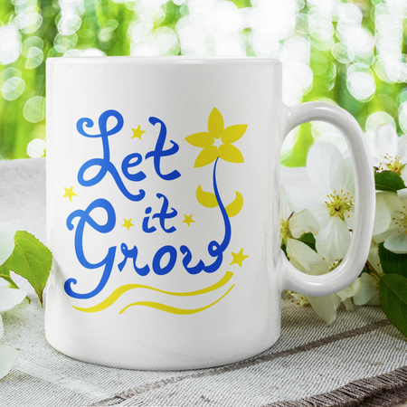 Let it Grow Mug