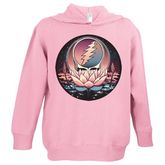 Grateful Dead Lotus Stealie Toddler Hoodie