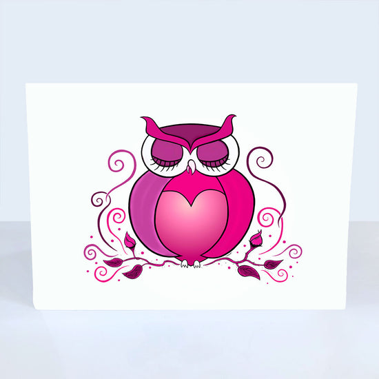 Love Owl Greeting Card