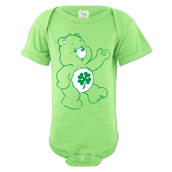 Care Bears Good Luck Bear Baby Short Sleeve One Piece
