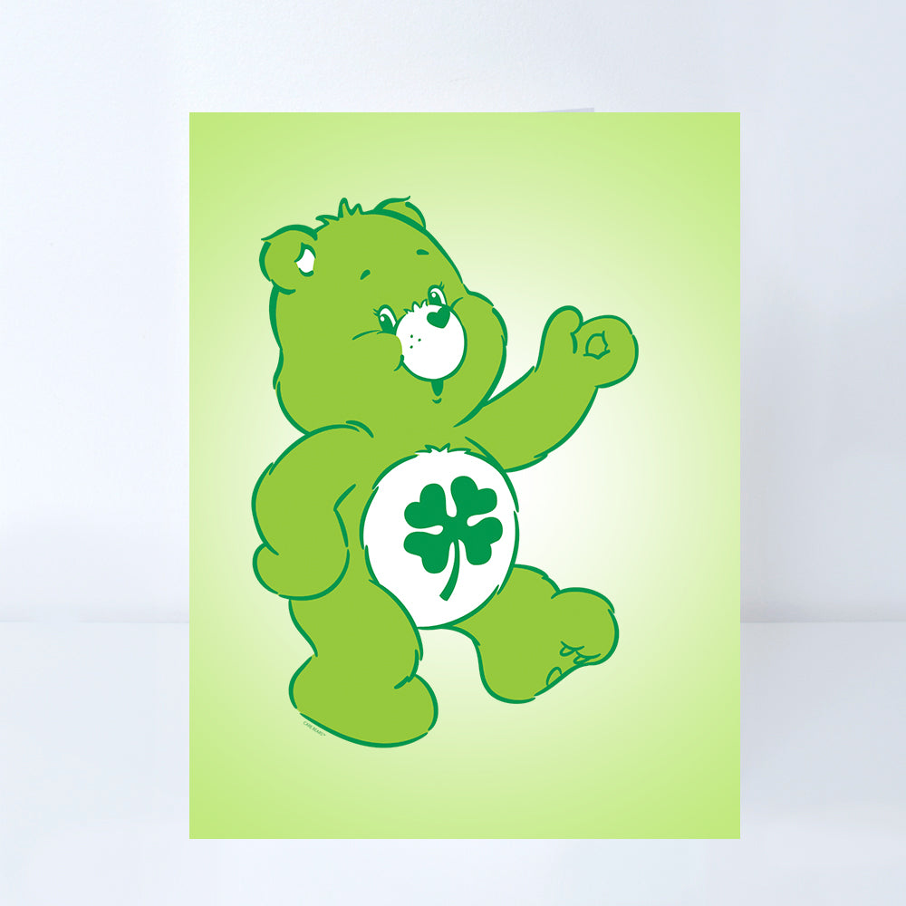 Green 12 Months Care Bears Lucky Bear T-Shirt