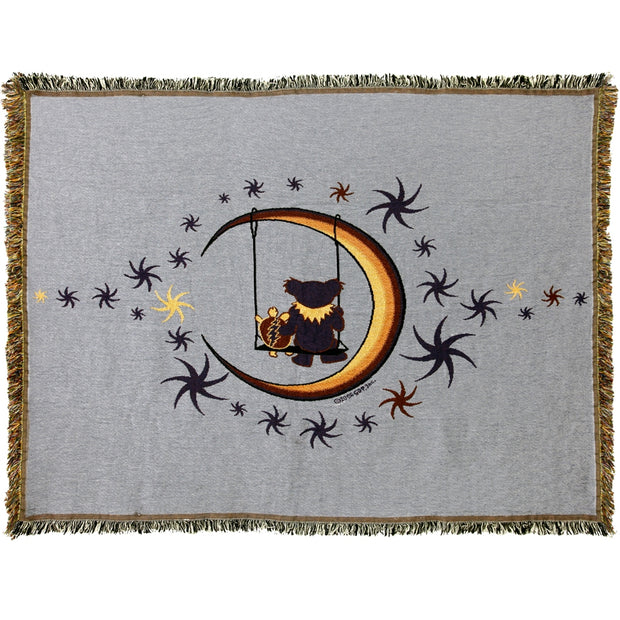 Grateful Dead Moon Swing Woven Cotton Blanket