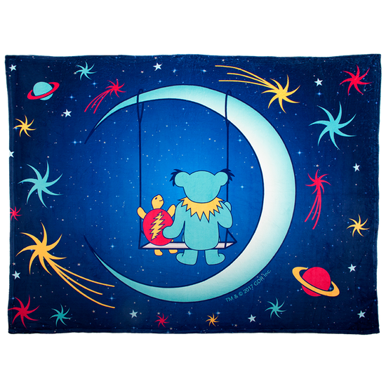 Grateful Dead Blue Moon Swing Coral Fleece Blanket