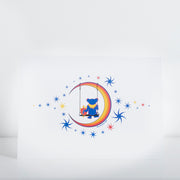 Grateful Dead Moon Swing Greeting Card