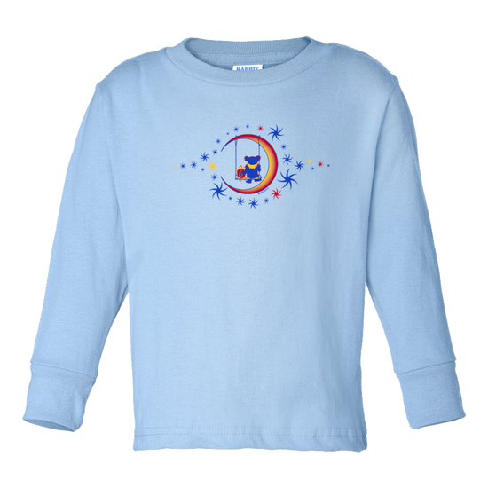 Grateful Dead Moon Swing Toddler Long Sleeve T