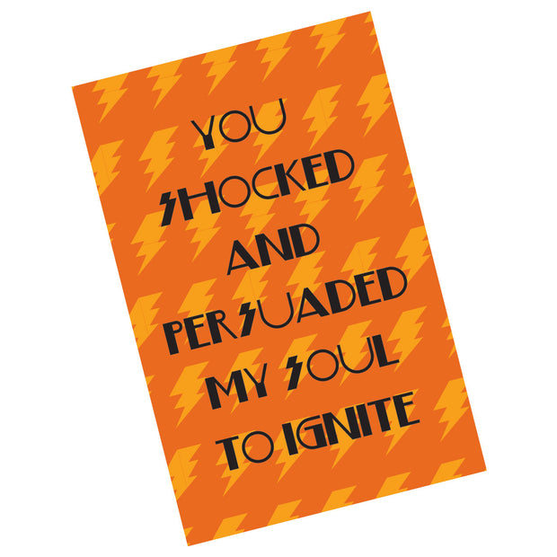 My Soul to Ignite Valentine Card