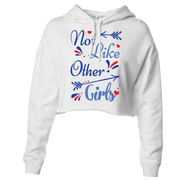 Not Like Other Girls Crop Hoodie