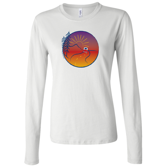 On the Road Women's Long Sleeve T