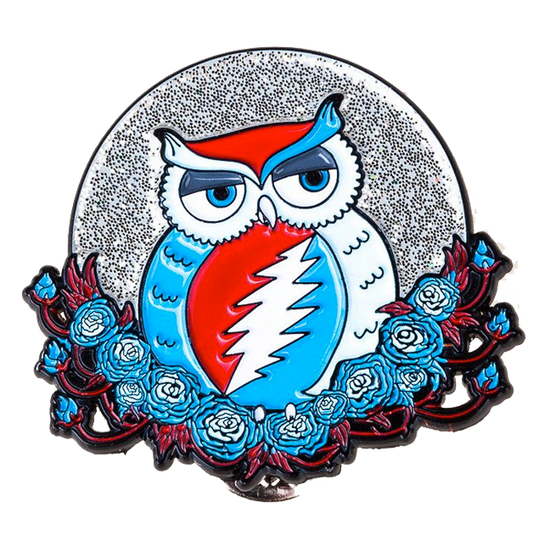 Grateful Dead Owl Pins