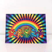 Grateful Dead Rainbow Bears Greeting Card