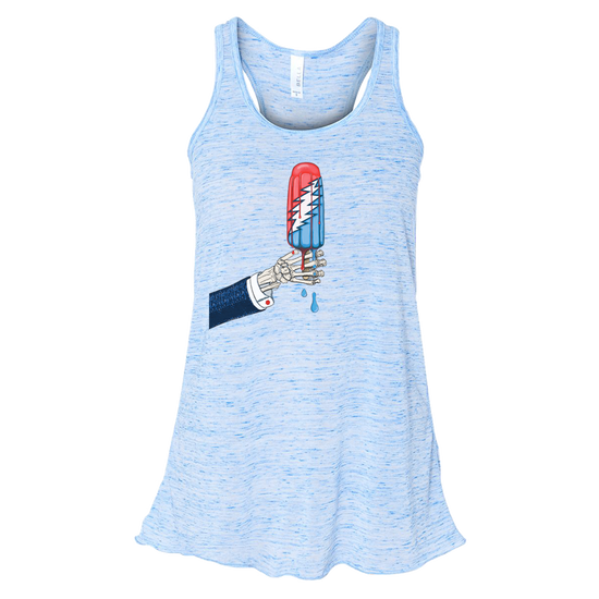 Grateful Dead Rocket Pop Women's Flowy Racerback Tank