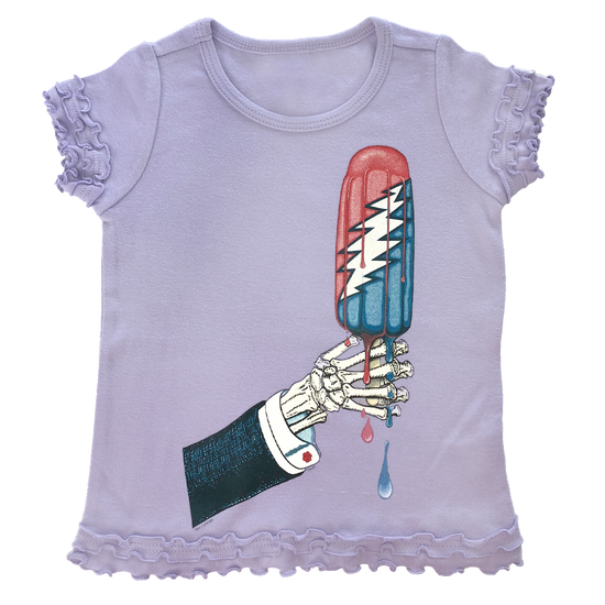 Grateful Dead Rocket Pop Toddler Sunflower T