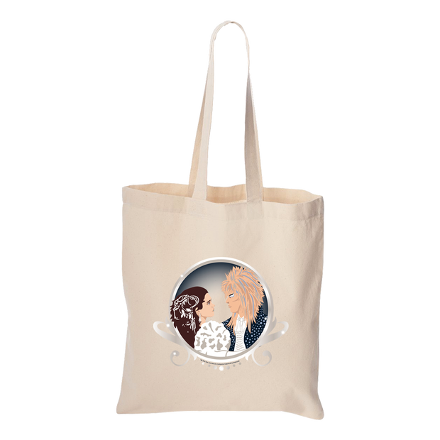 "Jim Henson's Labyrinth Movie ""Sarah & Jareth Dance"" Canvas Tote Bag"