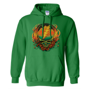 Grateful Dead Scarlet Fire Stealie Unisex Hoodie