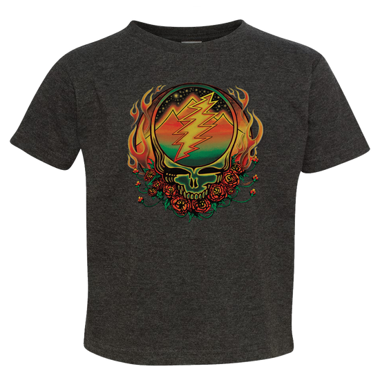 c34df644 Grateful Dead Scarlet Fire Stealie Toddler T