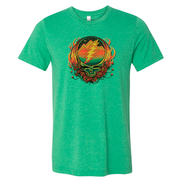 Grateful Dead Scarlet Fire Stealie Unisex T