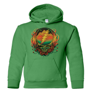 Grateful Dead Scarlet Fire Stealie Youth Hoodie