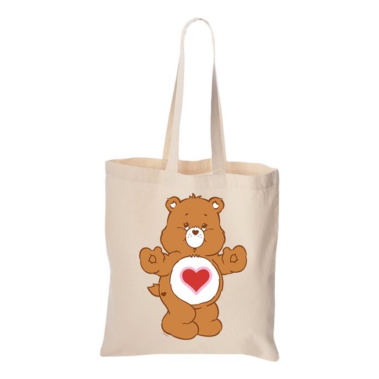 Care Bears Tender Heart Bear Canvas Tote Bag
