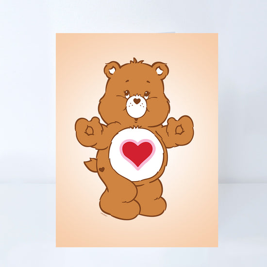 Care Bears Tender Heart Bear Greeting Card
