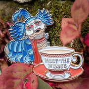 "Jim Henson's Labyrinth Movie ""Meet the Missus"" Collectible Teacup Pin"