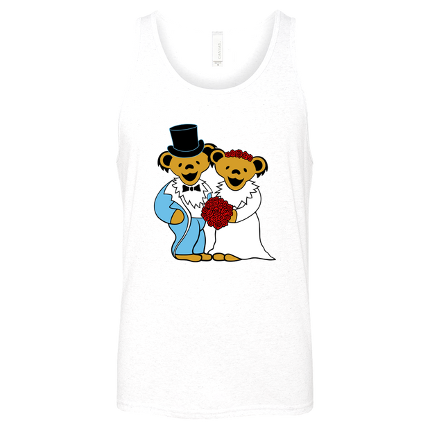 Wedding Bears Unisex Jersey Tank